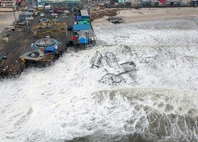 Desastres naturais custaram mais de 160 mil milhões de dólares em 2012
