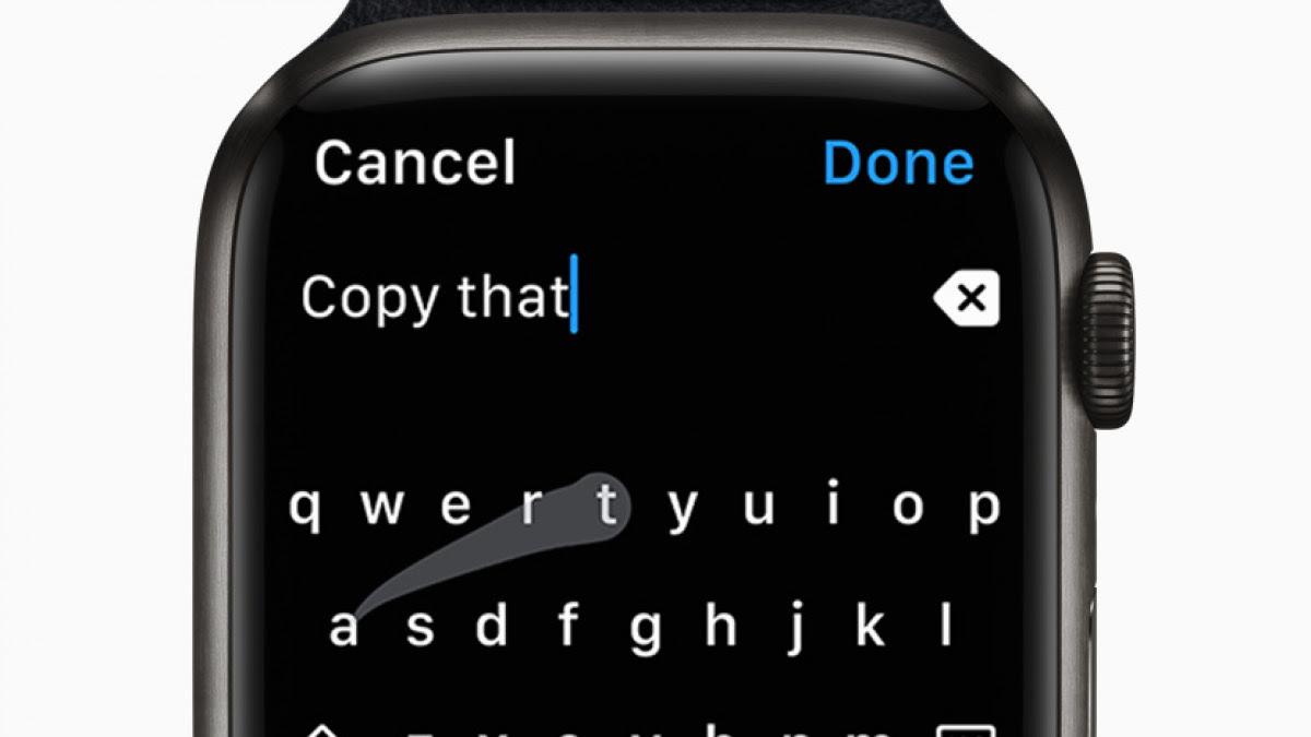 Apple Watch: Entwickler verklagt Apple wegen Watch-Tastatur - Golem.de
