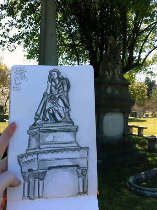 Nannie sketch & stone