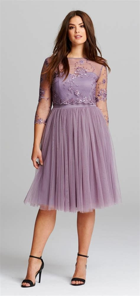 45 Plus Size Wedding Guest Dresses {with Sleeves}   Alexa Webb