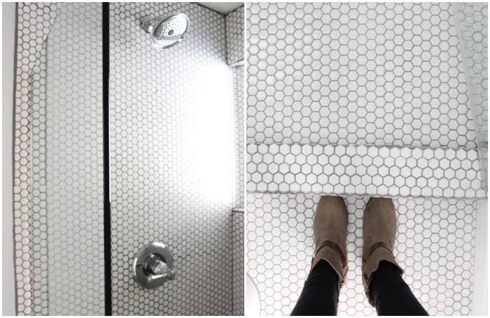 Penny Tile Shower Tile Dream Book Design