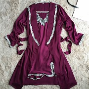 Sale  Sexy Intimate Lingerie Kimono Bathrobe Gown Summer Lady Robes Lace Long Sleeve Nightwear New Arriva