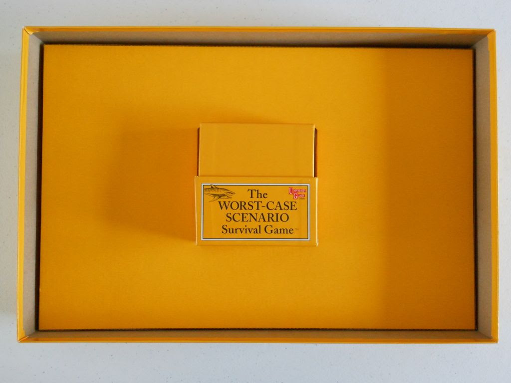 The Worst-Case Scenario Survival Game - inside the box