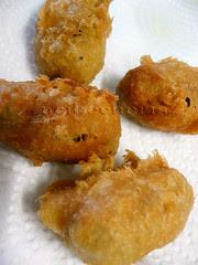 croquetitas en tempura