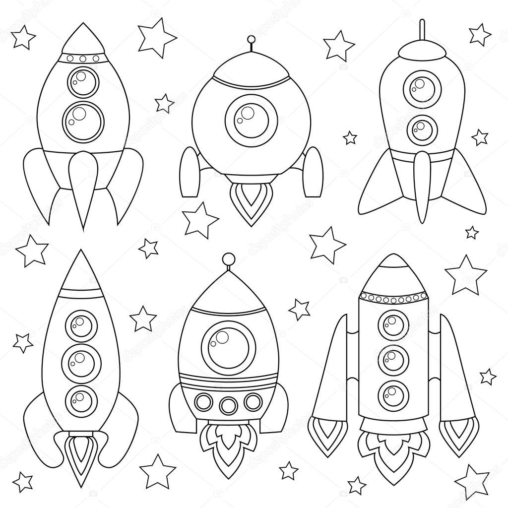 White Clipart Spaceship Auto Electrical Wiring Diagram