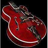 Gibson Custom Shop HSLCWRGH1 Hollow-Body Electric Guitar, Wine Red