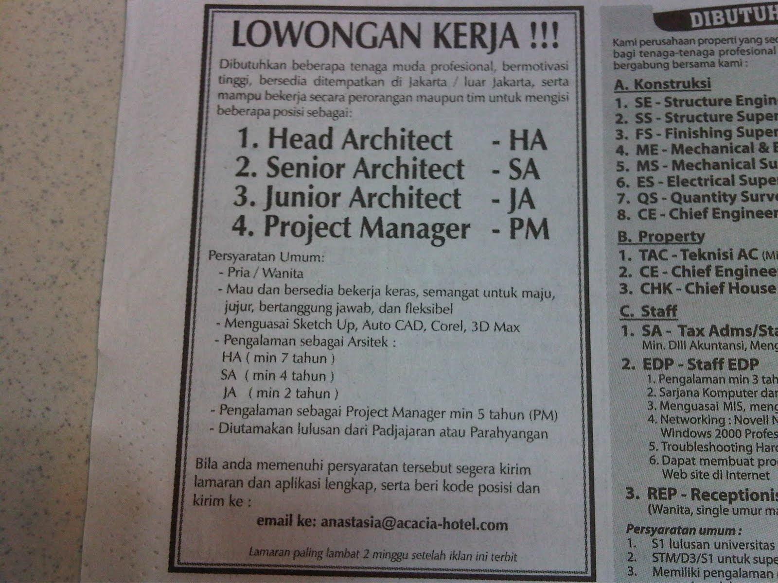 Lowongan Kerja Surabaya Jobsdb - Ndang Kerjo