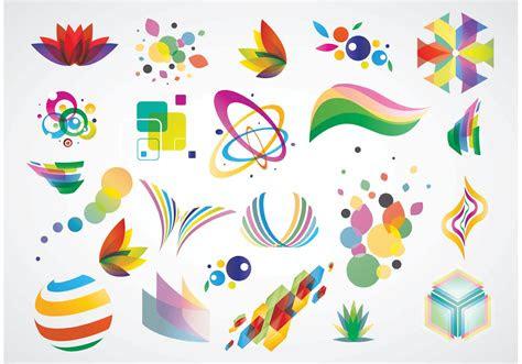logo design elements   vectors clipart