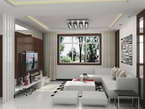 simple living hall design  picture simple living hall