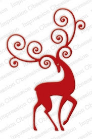 Reindeer Flourish - TEMPORARILY OUT OF STOCK