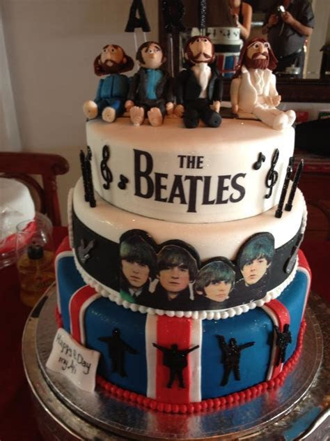 164 best BEATLES CAKES images on Pinterest