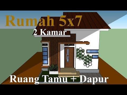 rumah minimalis sederhana ukuran 5x7 - desain rumah