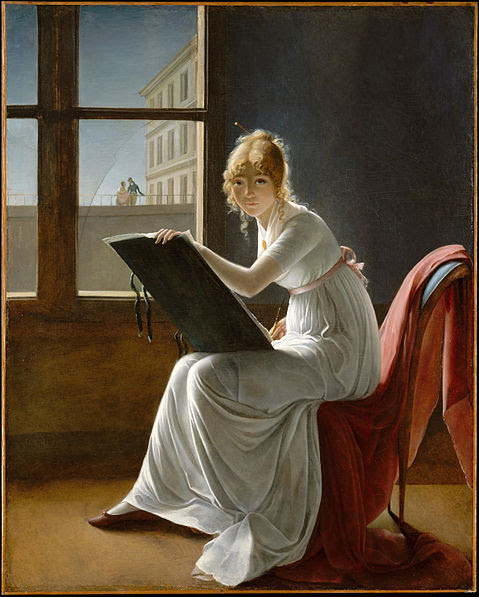 File:Villers Young Woman Drawing.jpg