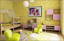 kids interior design ideas | Kids Wall Wood Furniture | Colouring Wall