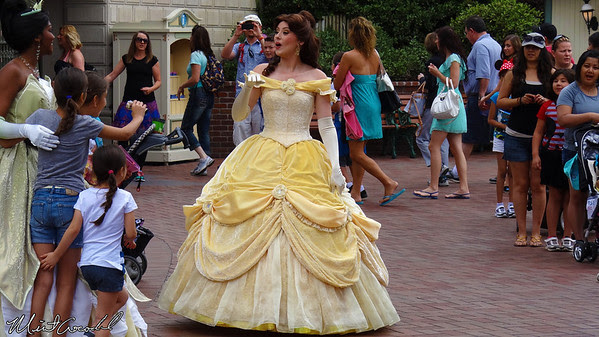 Disneyland Resort, Disneyland, Belle, Tiana
