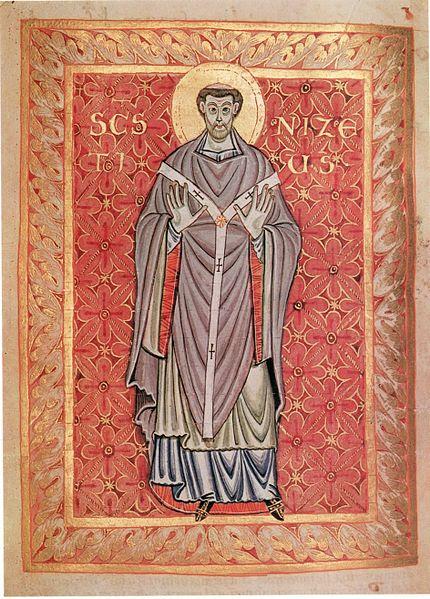 Saint Nizier de Trèves († 561)