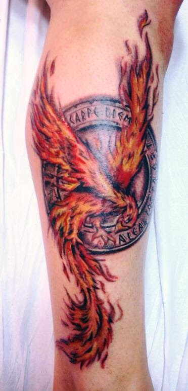 Tattoo Ave Fenix Gattoostudio