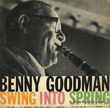 GOODMAN, BENNY swing into spring