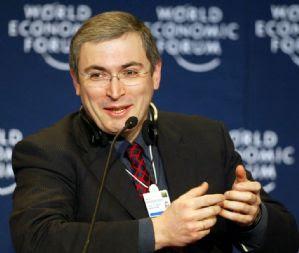 Mijail Jodorkovski en el Foro económico mundial