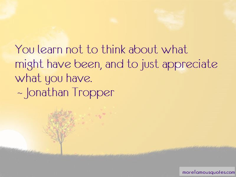 Appreciate What You Have Quotes Top 68 Quotes About Appreciate What