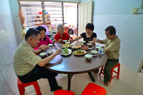 Having lunch in Ipoh
