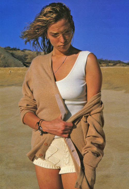 Magazine: Elle France, March 1989 Model: Tatjana Patitiz