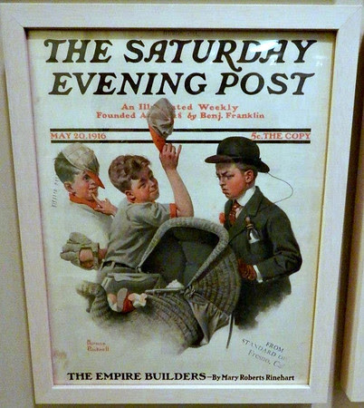 Rockwell's Very First Saturday Evening Post Cover