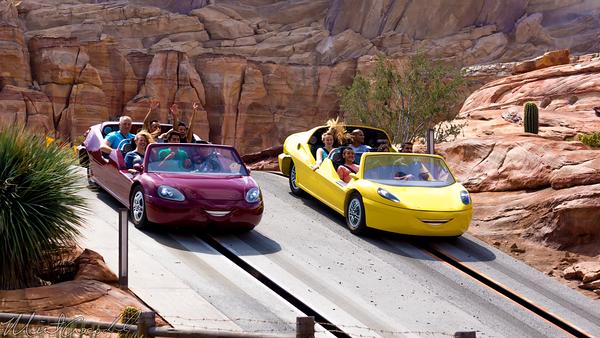 Disneyland Resort, Disneyland60, Disney California Adventure, Cars, Land, Radiator, Springs, Racers