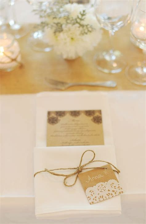 42 best images about {Wedding} Napkin Folds and Menu Cards