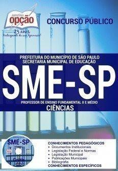 apostila smesp PROFESSOR DE CIÊNCIAS