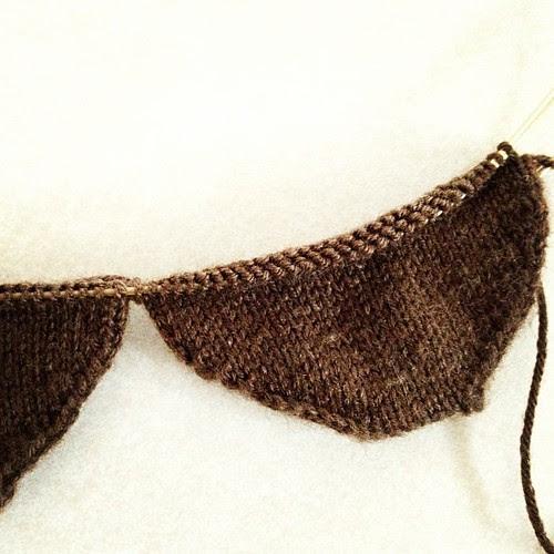 Starting toe up socks in Regia 4ply silk. #knitting