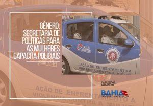 Gênero: Secretaria de Políticas para as Mulheres capacita policiais