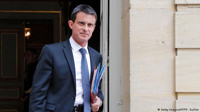 Frankreichs Premierminister Manuel Valls in Paris. Foto: Getty Images/AFP/F. Guillot