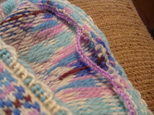 VS armhole - crochet problem?