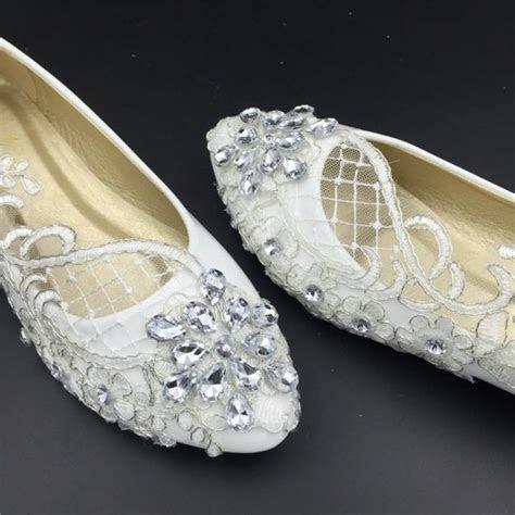 Wedding Flats,Bridal Ballet Shoes,Comfortable Flats,Lace