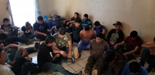 Laredo Sector Border Patrol agents find 36 illegal immigrants packed in a stash house on Laredo's south side. (Photo: U.S. Border Patrol)