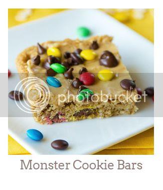 """Monster Cookie Bars"""