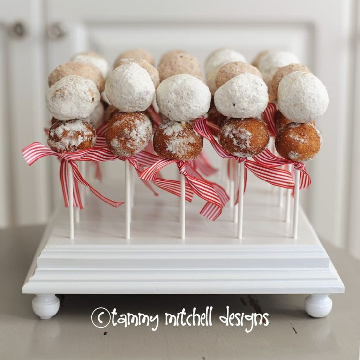 Let's Party: Valentine's Day Breakfast, Party Food Donuts on a stick » Tammy Mitchell Photography