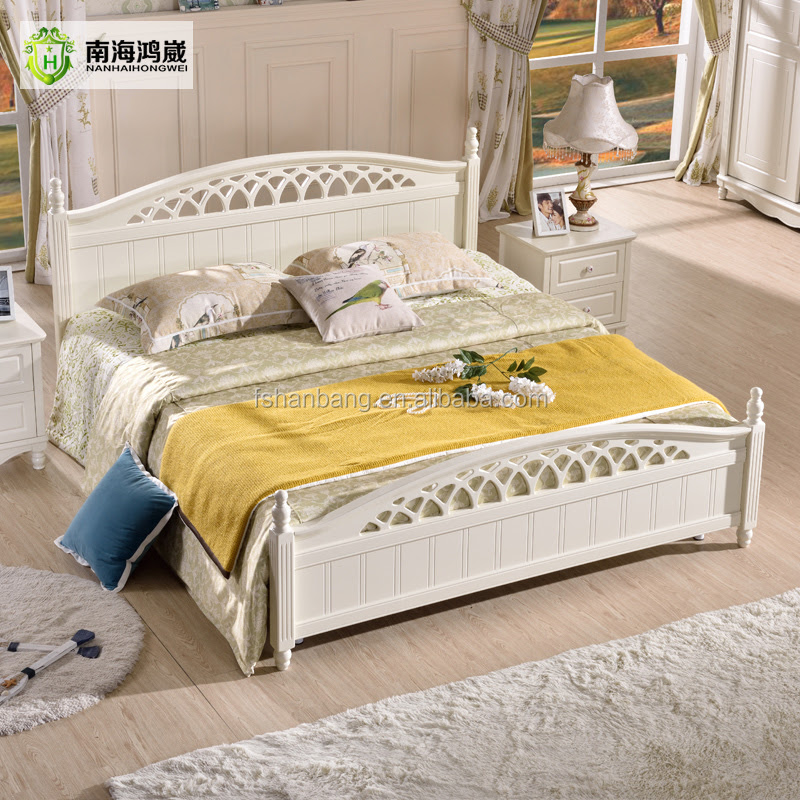 2016 Latest Storage Bed Furniture Wooden Double Bed ...