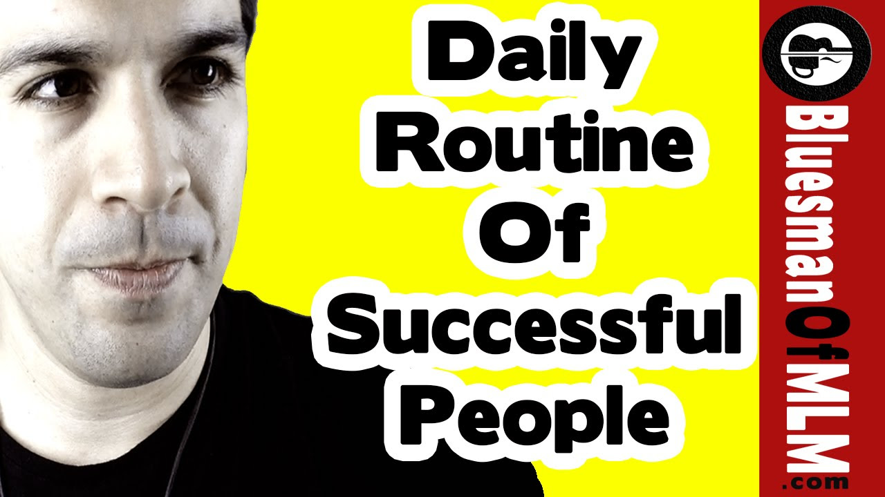 Daily Routine Of Successful People | Productivity Exercise - YouTube