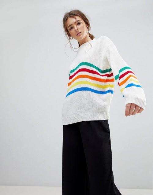 Tết 2018 đẹp rạng ngời với 16 items thời trang mang họa tiết cầu vòng - Ảnh 2.