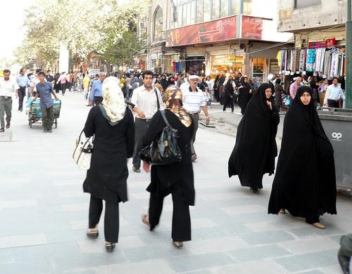 mujeres teheran