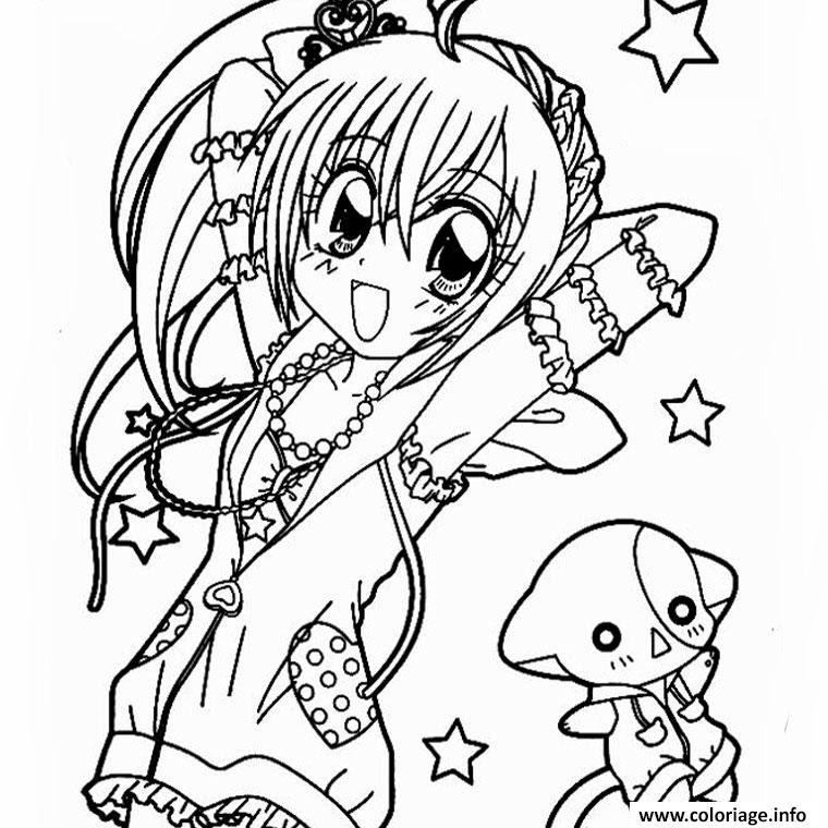 Vedkokeven Blogspot Com Dessin A Imprimer Fille Manga