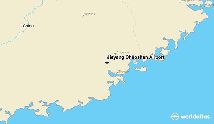 Jieyang Chaoshan Airport Swa Worldatlas