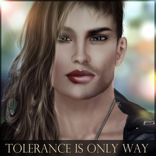 Tolerance is the only way by Ellendir Khandr MMV 2012 Miss Costa Rica