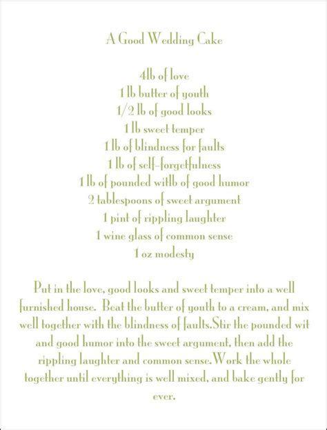 the wedding cake poem   Cake Recipe