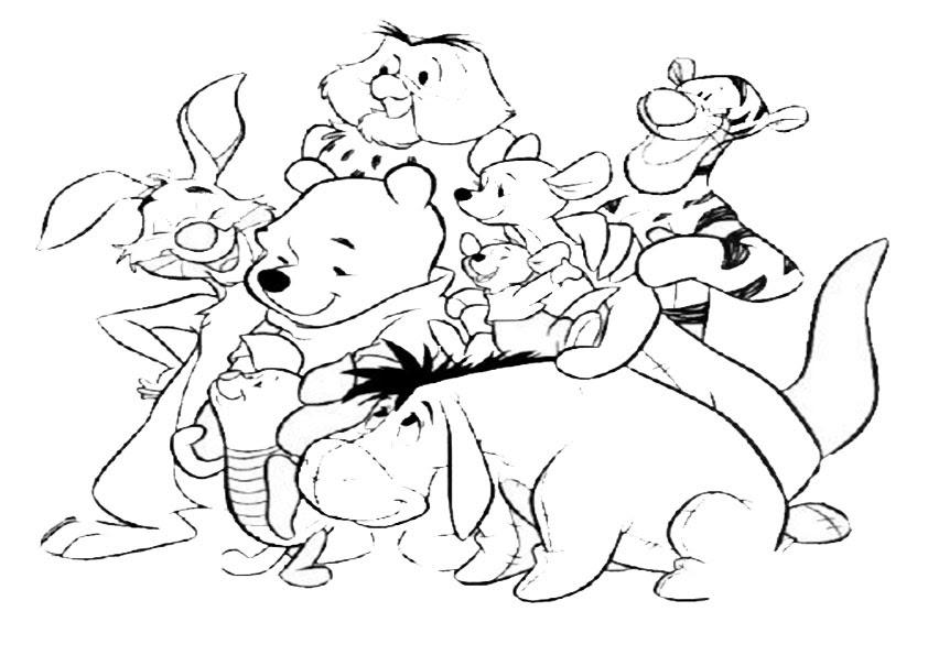 gratis malvorlagen winnie pooh