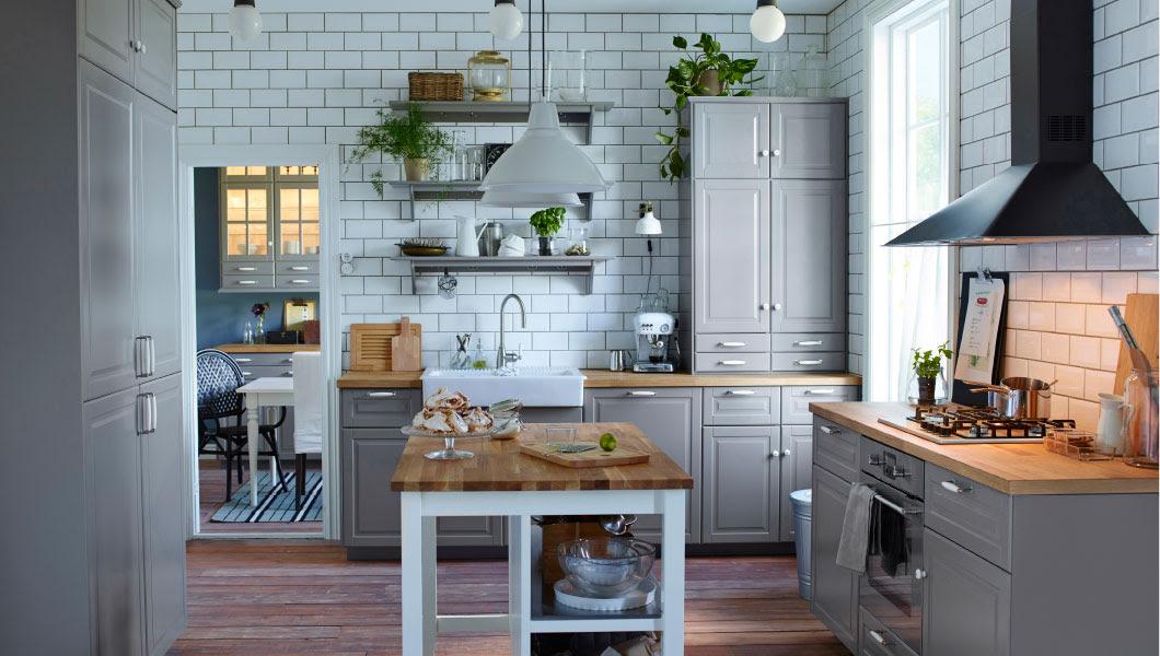 5 IKEA grey kitchen ideas - Interior Design Inspirations