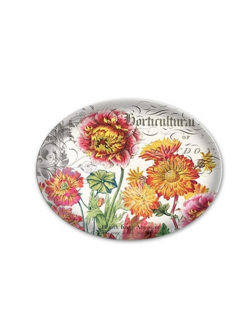 Michel Design Works Blooms And Bees Glass Soap Dish Gifts And More