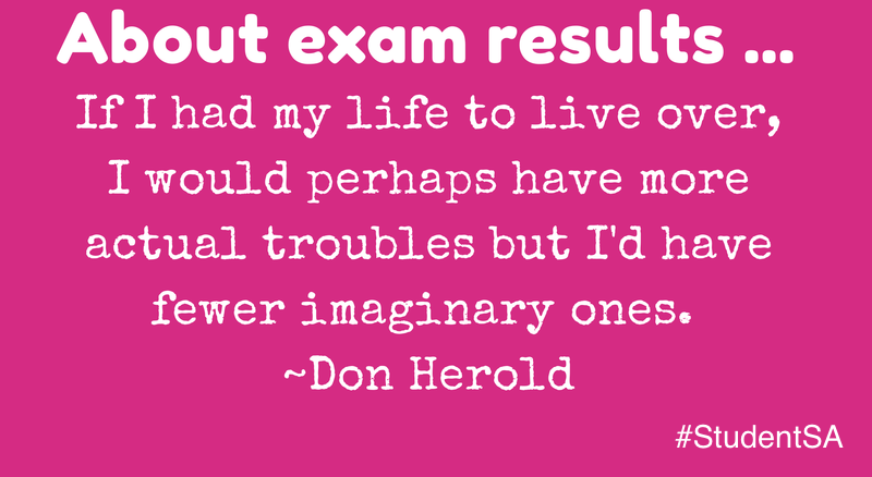 Quotes About Exam Results 33 Quotes